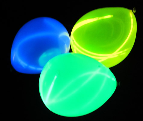Balloons With Glow Sticks in Them Glow Sticks in Balloons