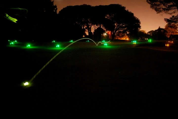 Twilight Glo Ball @ Indian Hills Golf Resort  | Fairfield Bay | Arkansas | United States