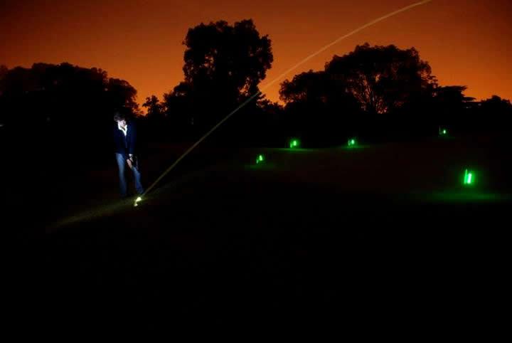 Glow in The Dark Golf Ball Glow in The Dark Night Golf is
