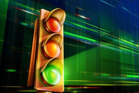 Image result for green light red light