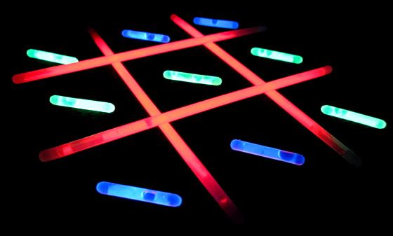 Tic Tac Glo And Other Fun Glow Game Ideas ActiveDark Glowing