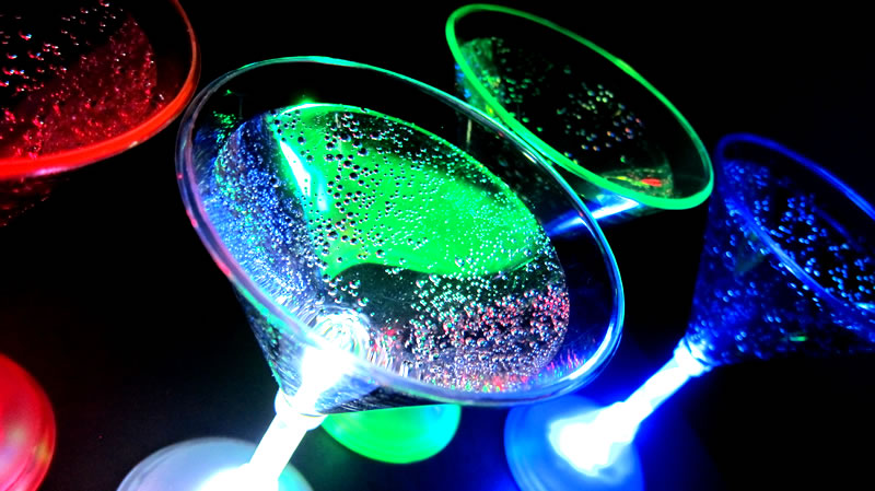 Glowing Martini