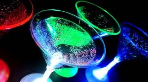 Glowing Martini