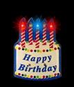 Birthday Body Light Pin
