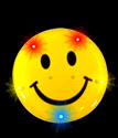 Happy Face Body Light Pin