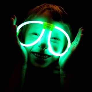 Glow in the Dark Eye Glasses