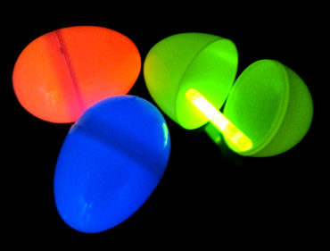 Glow Easter Eggs