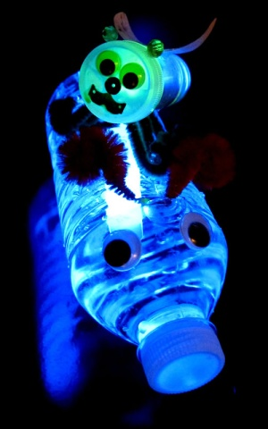Glowing Craft Idea Water Bugs