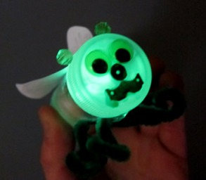 Glow Bug Craft