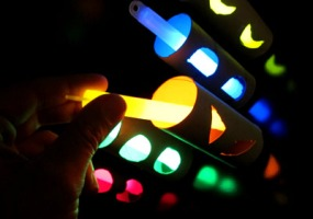 Glow Craft Paper Tube