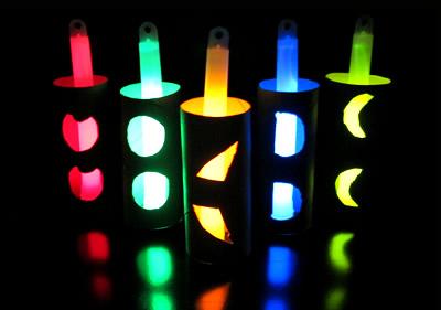 Paper Tube Glow Craft
