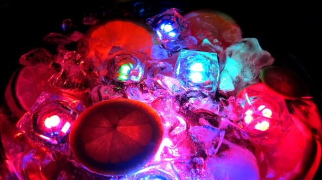 Light Up Punch Bowl