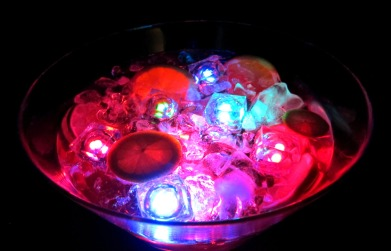 Glowing Punch Bowl