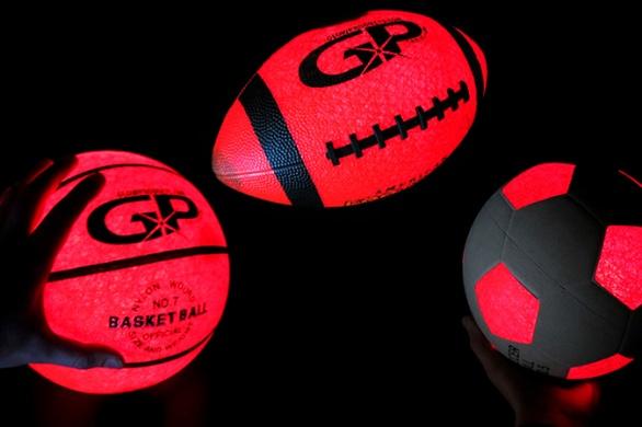 Glowing Sports Balls