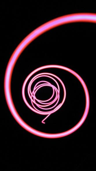 EL Wire Spiral