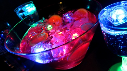 Glowing Drink Accessories