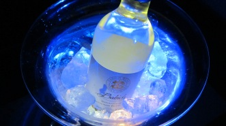 Glowing Champagne Tabletop Chiller