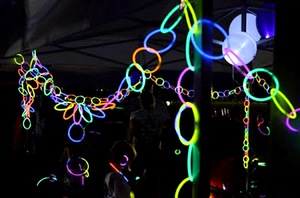 Glow Necklaces As Glowing Party Decorations ActiveDark