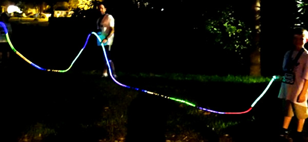 "Glow In The Dark Decoration Ideas glow party ideas"" ""glow party decorations"" ""glow rope"" ""glowing"