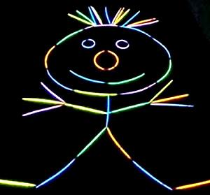 Glow Stick Figure