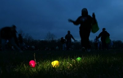 Glow Easter Egg Hunt