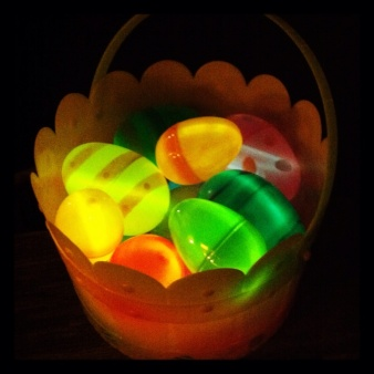 Glowing Easter Eggs