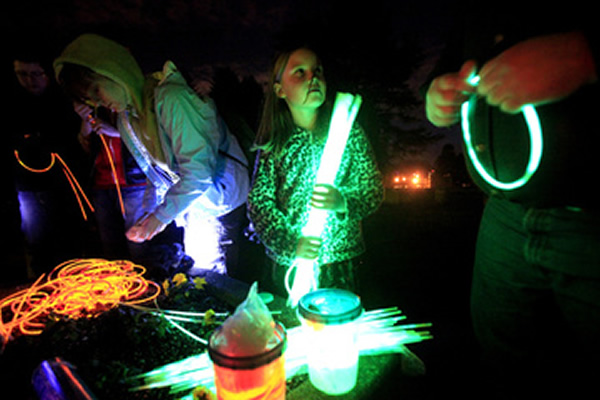 GlowingCaptureTheFlagSetup