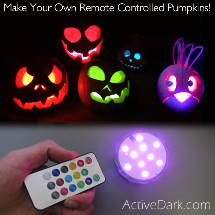 Remote Controlled Pumpkins!