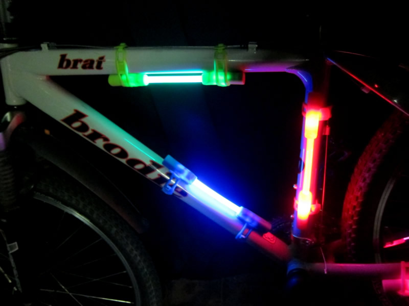 Glowing Bike Rides Lighting Up Your Bicycle For Night Rides