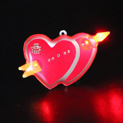 Heart_LED_Body Light_Flashing_Pins