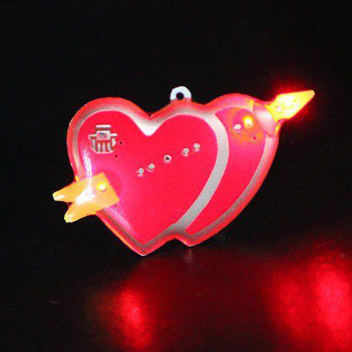 Heart_LED_Body Light_Flashing_Pins