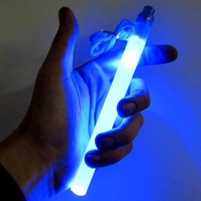 7 Inch LED Safety Light Stick - Blue