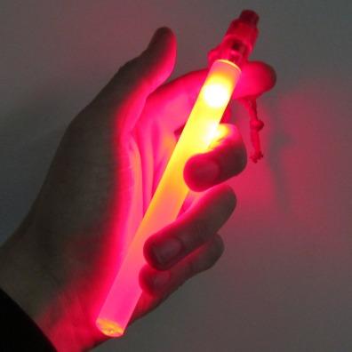 7 Inch LED Safety Light Stick - Red