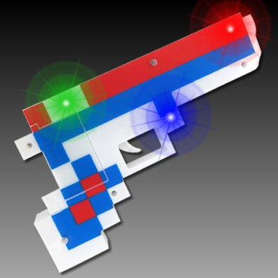 Light Up Pixel Blaster