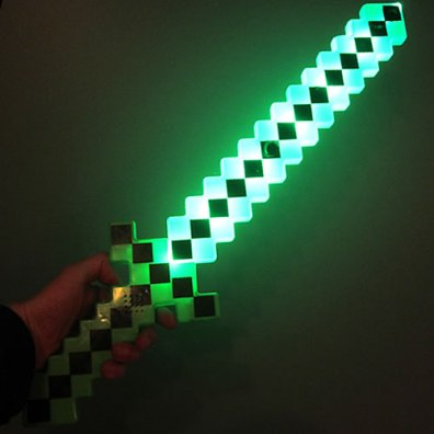 Light Up Pixel Sword