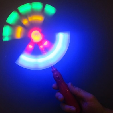 Light Up Windmill Wand