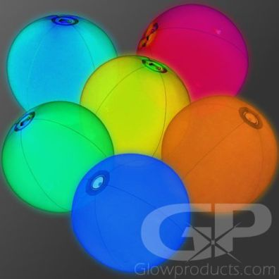 Glow in the Dark Beach Balls