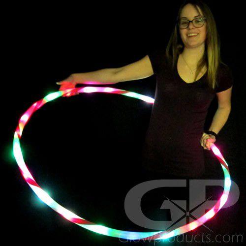 Glowing Hula Hoop