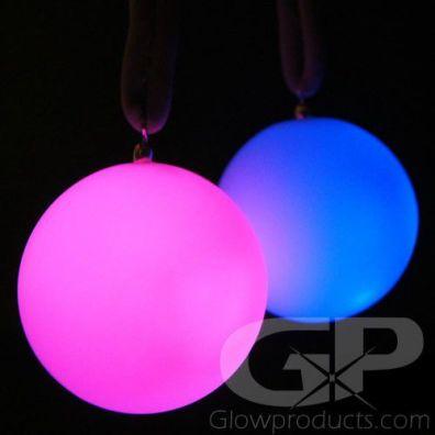 Glowing LED Poi Balls