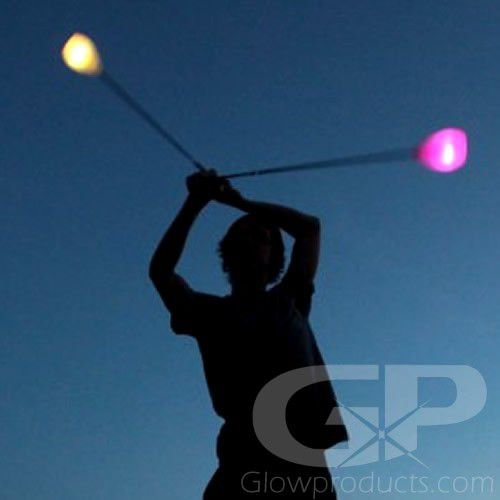 Light Up LED Poi Balls
