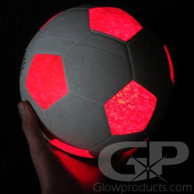 Glow in the Dark Soccer Ball