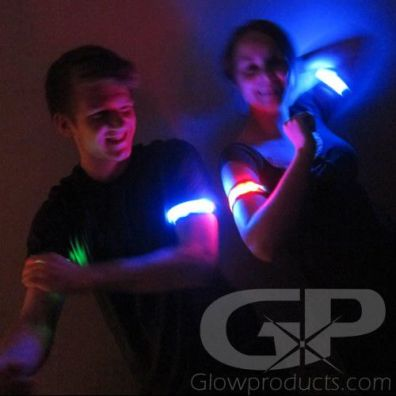Glow in the Dark Armbands