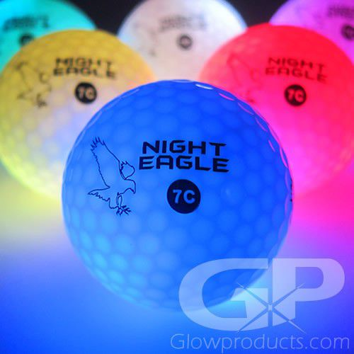 Light Up LED Golf Balls