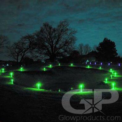 Glowing LED Marker Sticks