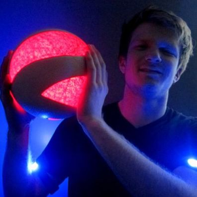 Glowing LED Volleyball